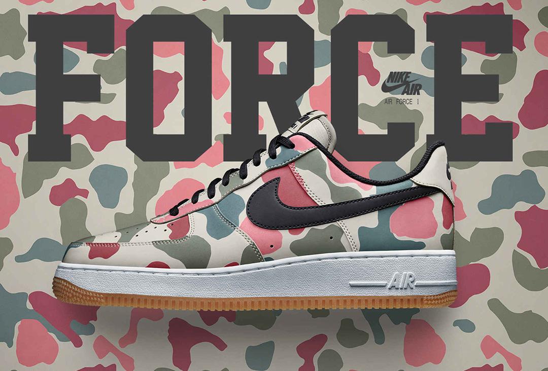 Nike air force 1 reflective camo, nike, sepatu sneaker terbaru, online shop, sepatu, jual sepatu sepatu sneakers - Sepatu Sneakers Terbaru 2020