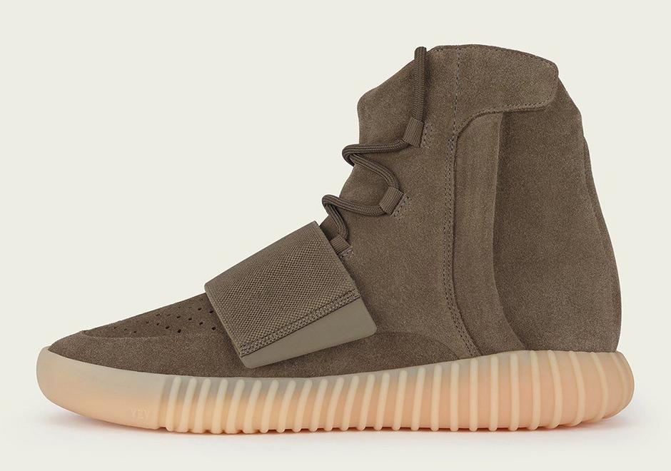 """Adidas Yeezy Boost 750 """"Light Brown"""" sepatu sneakers - Sepatu Sneakers Terbaru 2020"""
