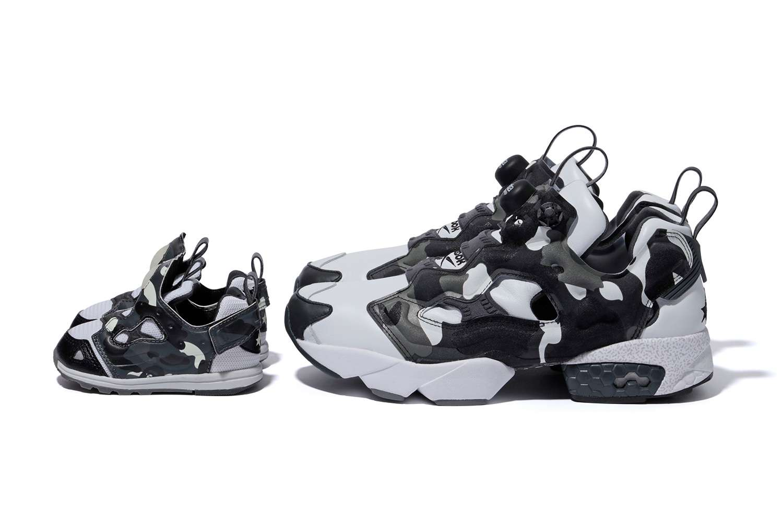 BAPE x Mita x Reebok Insta Pump Fury sepatu sneakers - Sepatu Sneakers Terbaru 2020