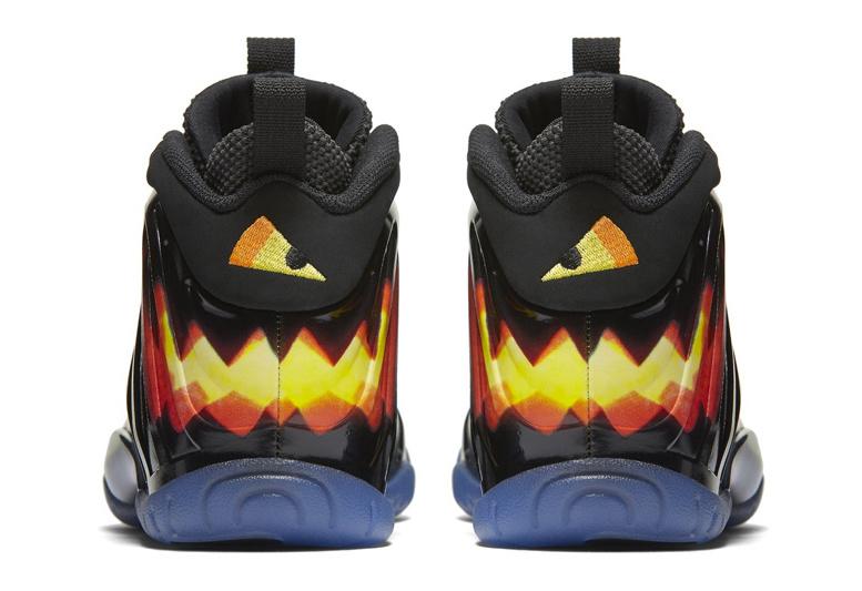 Nike Little Posite One Halloween sepatu sneakers - Sepatu Sneakers Terbaru 2020