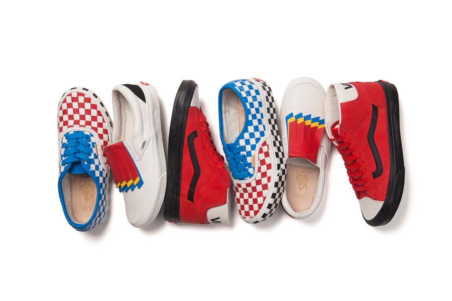 Vans Year of the Rooster Collection, Merek Sepatu - Vans