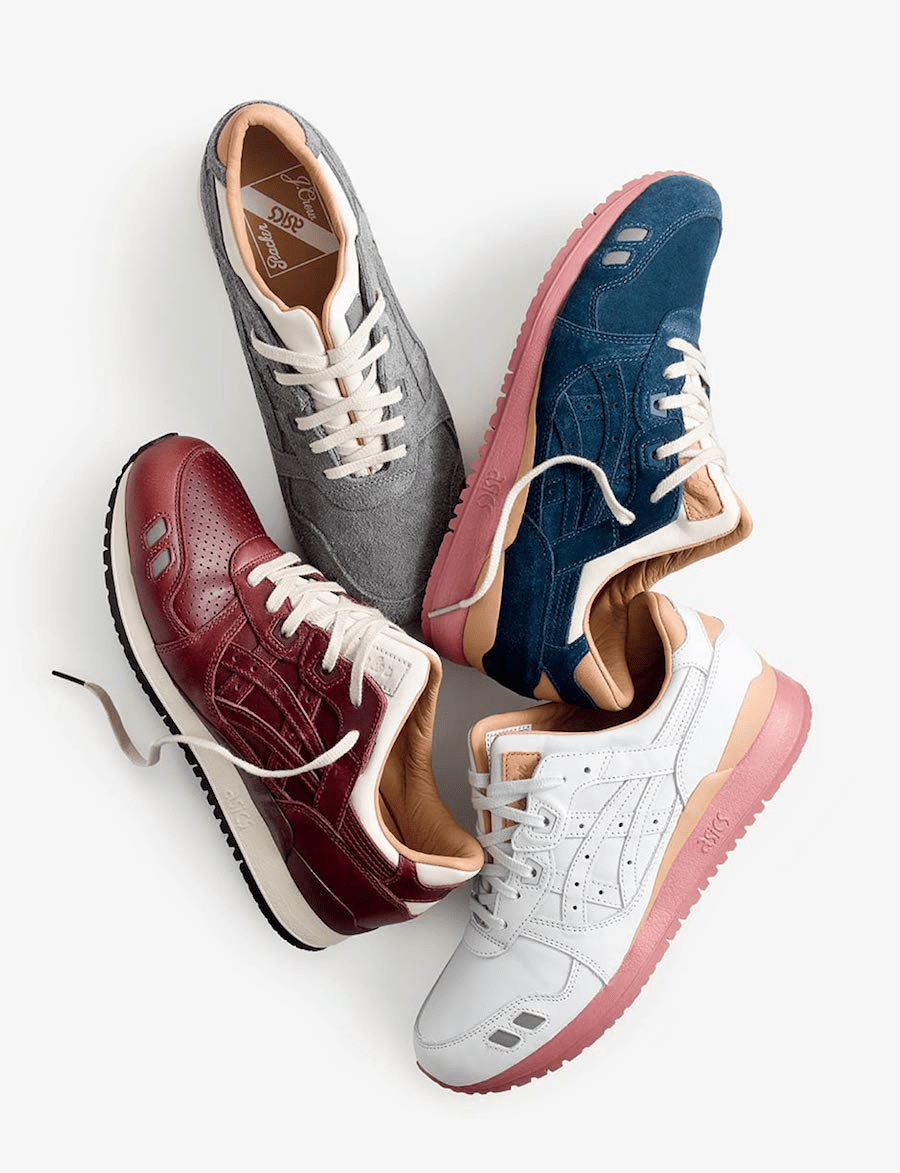 packer shoes asics - img 5a2022efe333e - PACKER SHOES Merayakan HUT ke-110 dengan J.CREW DAN ASICS GEL LYTE III