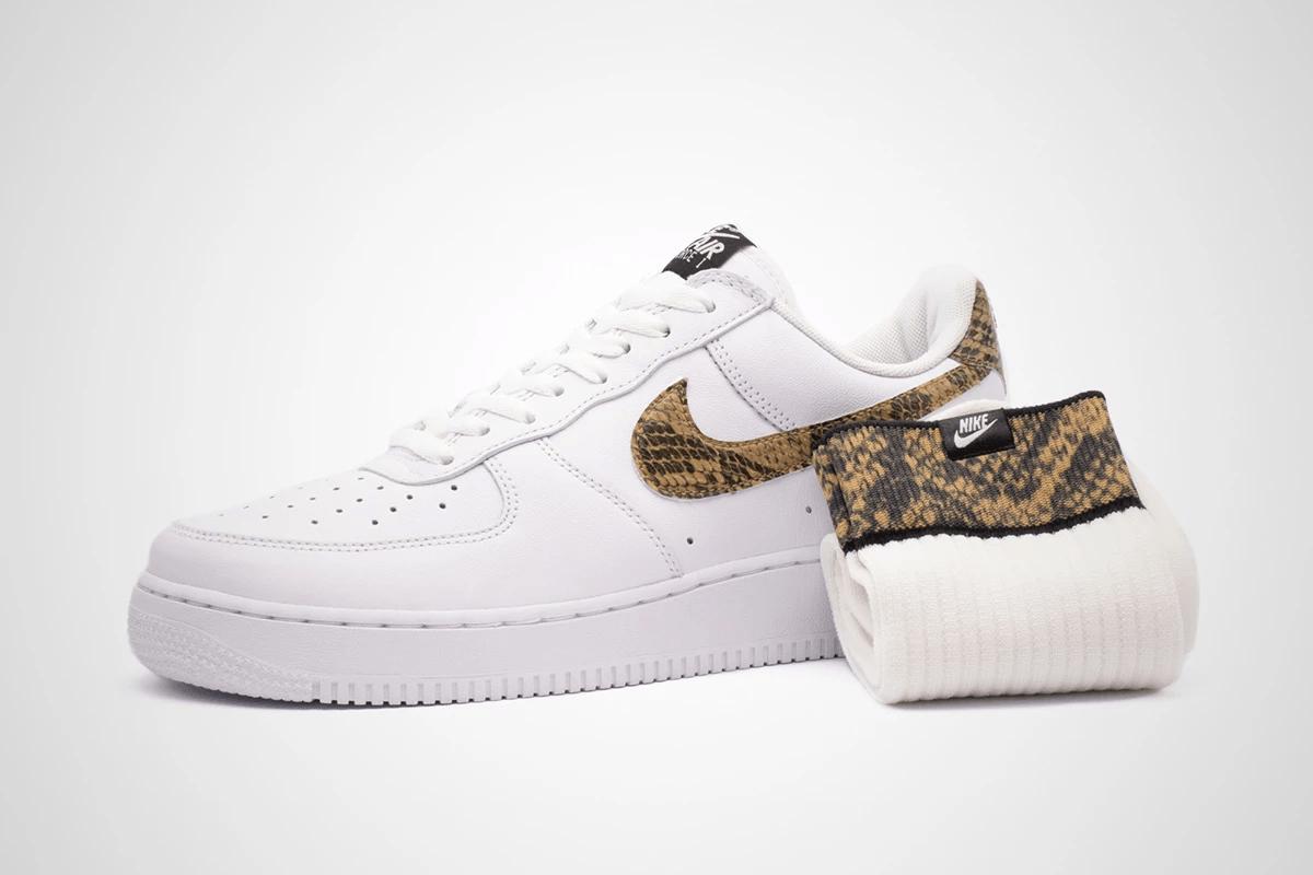 "air force 1 ""ivory snake"" - Nike Mengajak Bernostalgia dengan Air Force 1 ""Ivory Snake"" dari Tahun 1996"