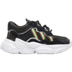 adidas Originals Ozweego Running Shoes - Black / Solar Green Onix