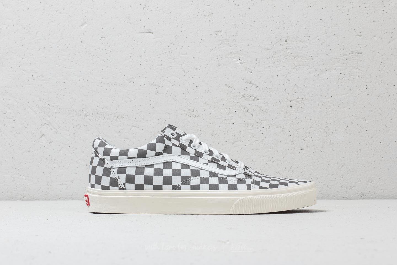 Skool Checkerboard Pewter Marshmallow sepatu vans ori - Harga Sepatu Vans Ori Murah Terbaru 2020