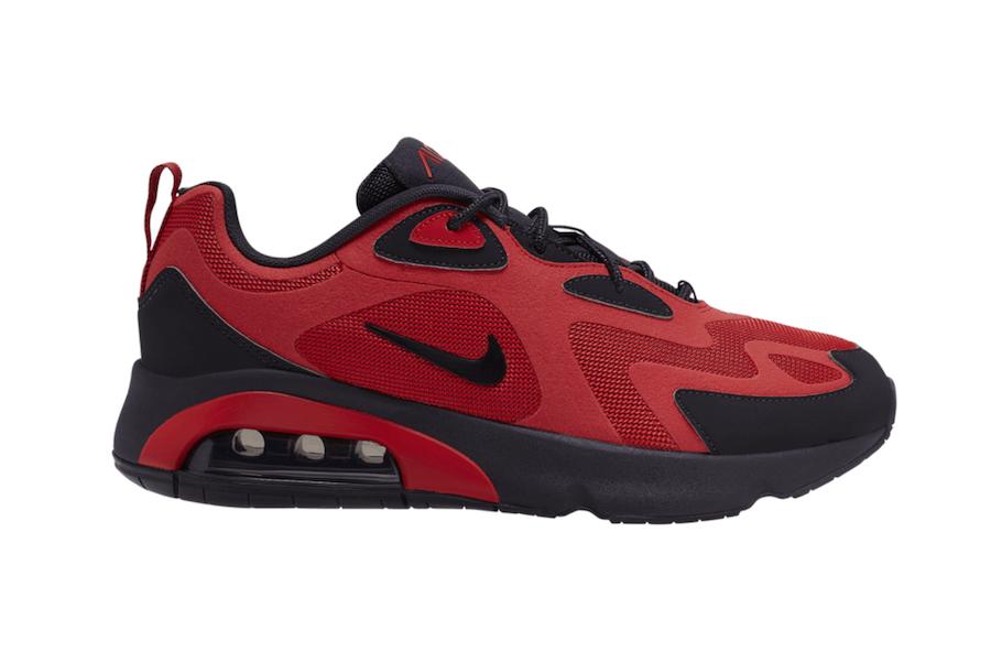 nike air max 200 - Nike Merilis Air Max 200 dalam Kombinasi Warna Merah Hitam