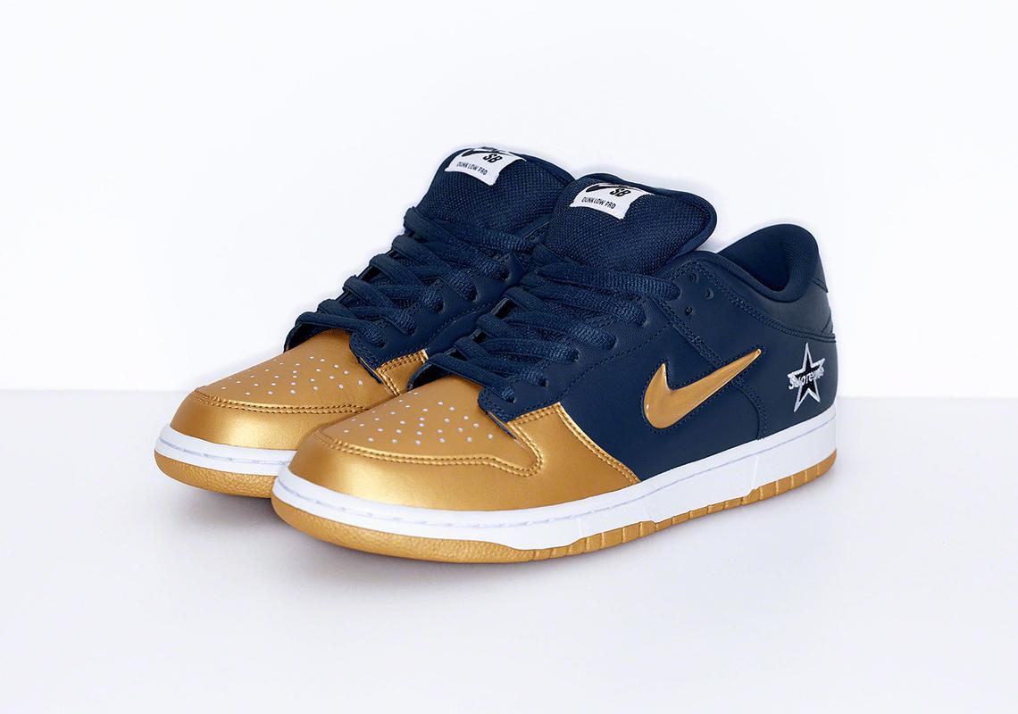supreme Nike SB Dunk Low supreme nike sb dunk low - Supreme Mengumumkan Tanggal Perilisan Koleksi Nike SB Dunk Low