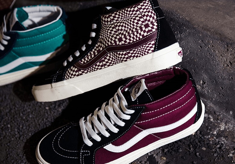 "vans sk8-mid warped check - img 5d9e0ffec95a4 - BILLY'S Tokyo Merilis The Vans Sk8-Mid ""Warped Check"" Secara Eksklusif"