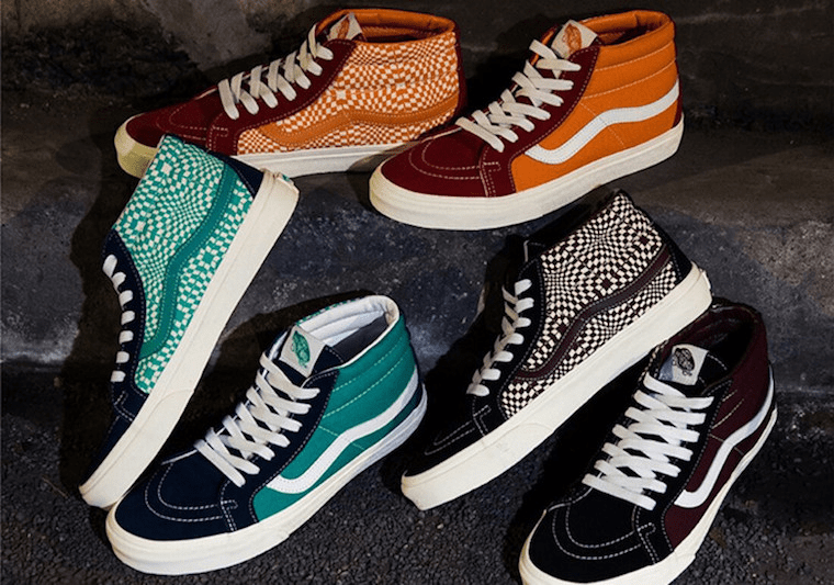 "vans sk8-mid warped check - img 5d9e1042037b2 - BILLY'S Tokyo Merilis The Vans Sk8-Mid ""Warped Check"" Secara Eksklusif"