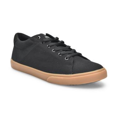 Airwalk Leddie Sepatu Sneakers Pria - Black Camel blibli - 10 Sepatu Sneaker Branded Murah Dibawah 500 ribu.