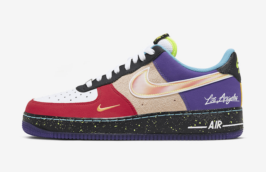 """nike air force 1 low """"what the la"""" - Nike Air Force 1 Low """"What The LA"""""""