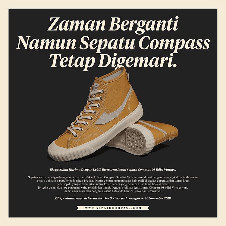 Sneakers Lokal sepatu compass sneakers lokal - 73 Sneakers Lokal Kekinian yang Keren Banget