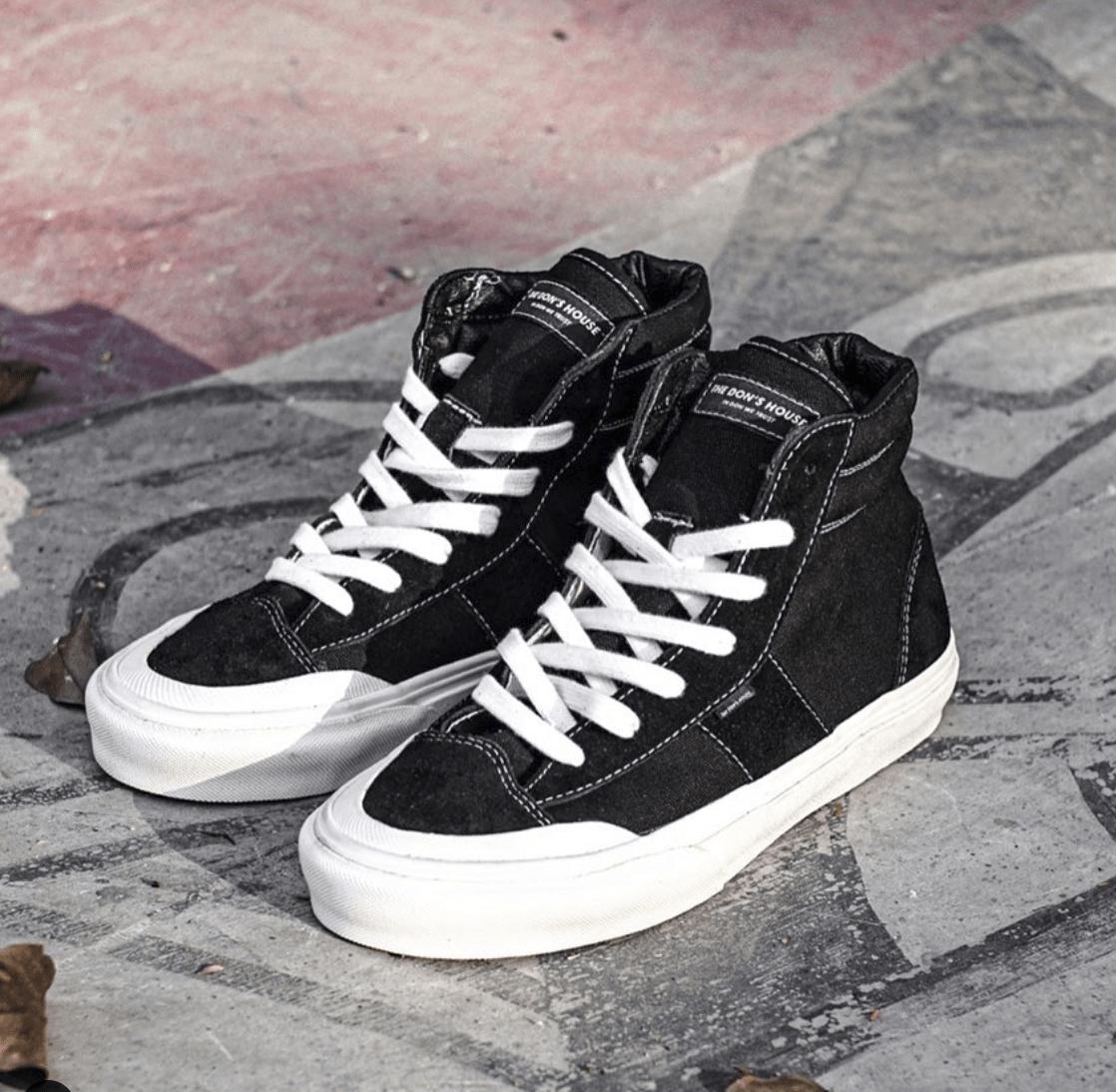 sepatu the dons house sneakers lokal - 73 Sneakers Lokal Kekinian yang Keren Banget