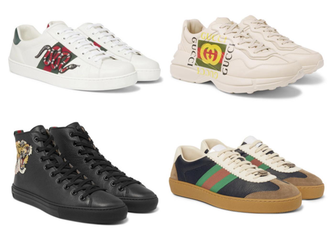 Sepatu Luxury Sneakers Gucci Terbaik luxury sneakers - 14 Luxury Sneakers Terbaik dari Desainer Dunia