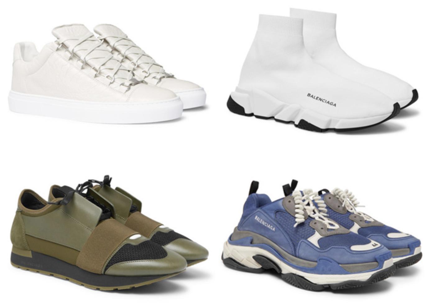 Sepatu Luxury Sneakers Balenciaga Terbaik luxury sneakers - 14 Luxury Sneakers Terbaik dari Desainer Dunia
