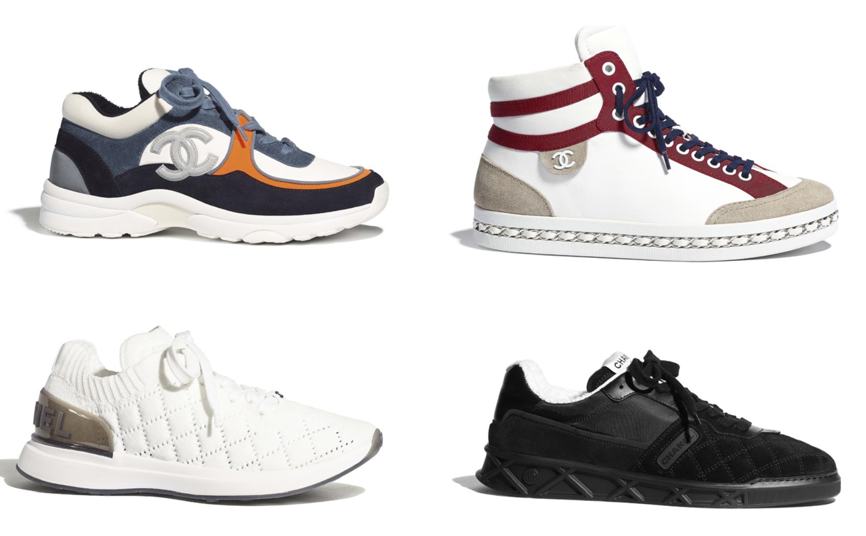 Sepatu Luxury Sneakers Chanel Terbaik luxury sneakers - 14 Luxury Sneakers Terbaik dari Desainer Dunia