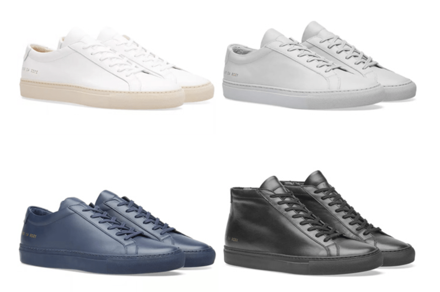 Sepatu Luxury Sneakers Common Project Terbaik luxury sneakers - 14 Luxury Sneakers Terbaik dari Desainer Dunia