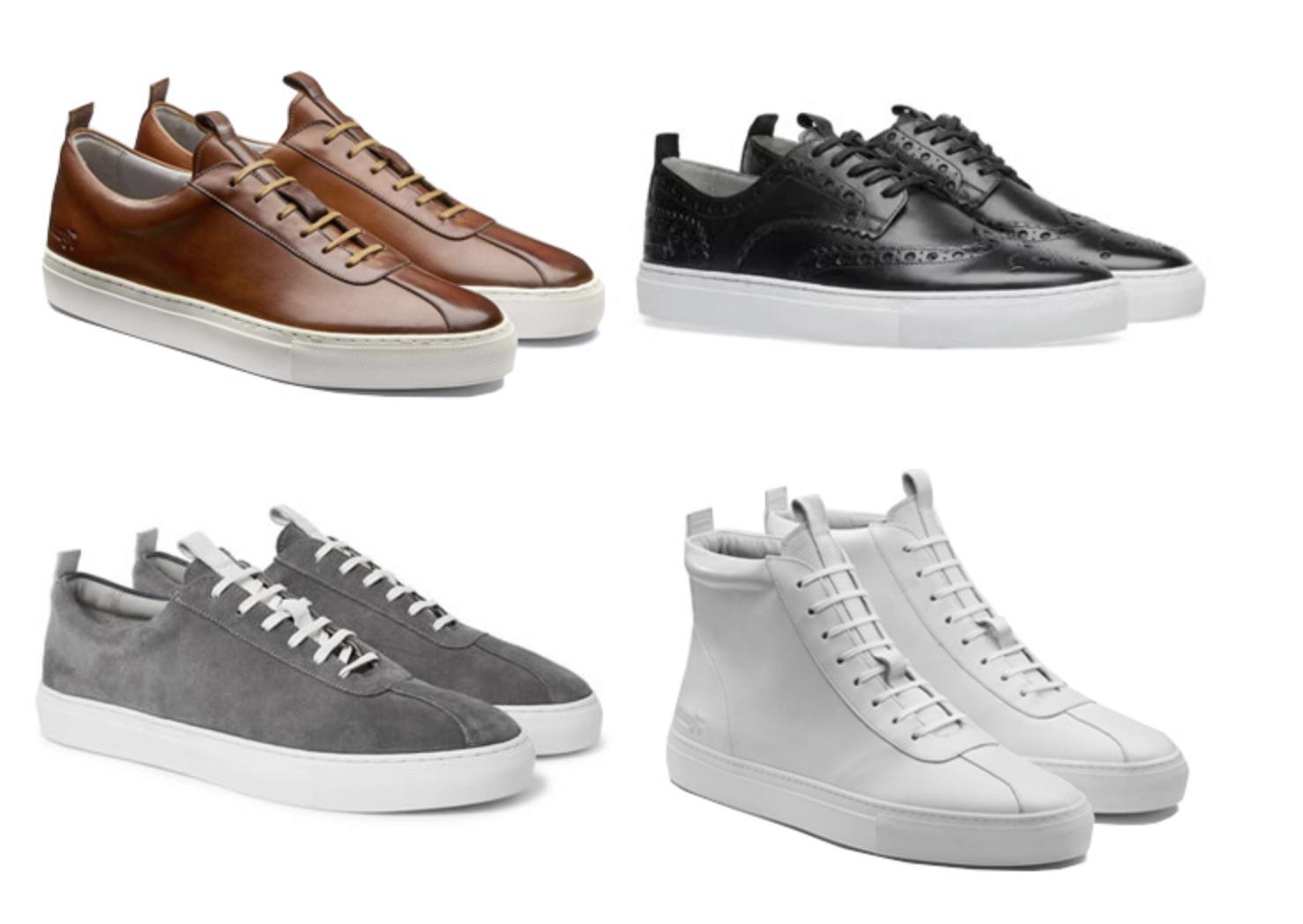 Sepatu Luxury Sneakers Grenson Terbaik luxury sneakers - 14 Luxury Sneakers Terbaik dari Desainer Dunia