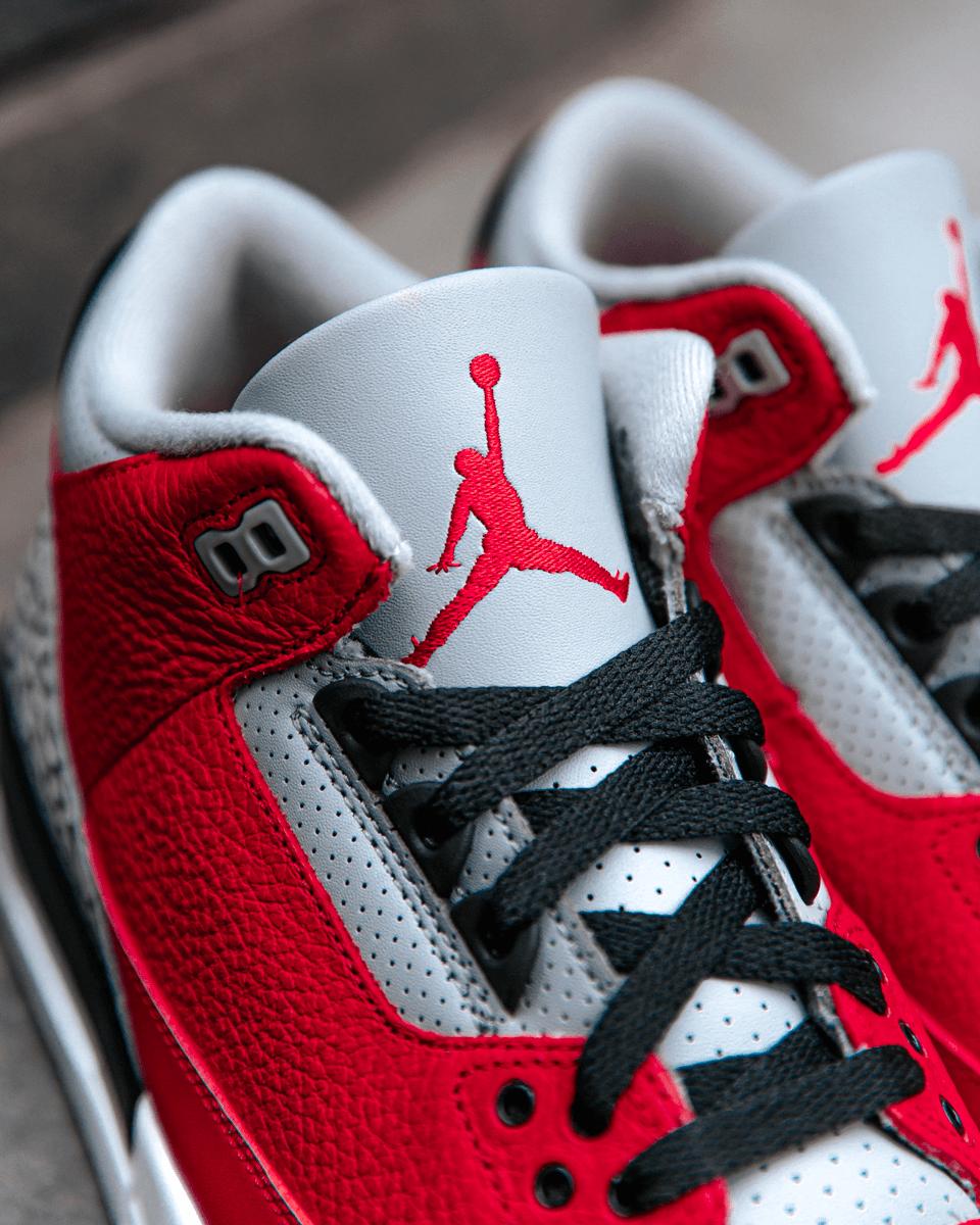 "Air Jordan 3 ""Red Cement"" air jordan 3 ""red cement"" - Air Jordan 3 Kembali ke Chicago dengan Air Jordan 3 ""Red Cement"""