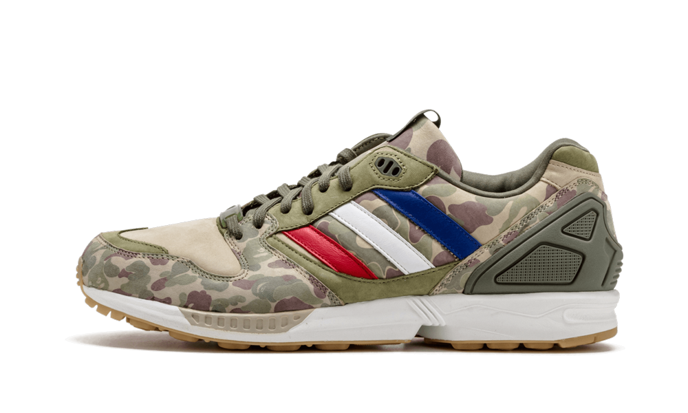 Adidas ZX 5000 'Undefeated x BAPE' Shoes - Size 10