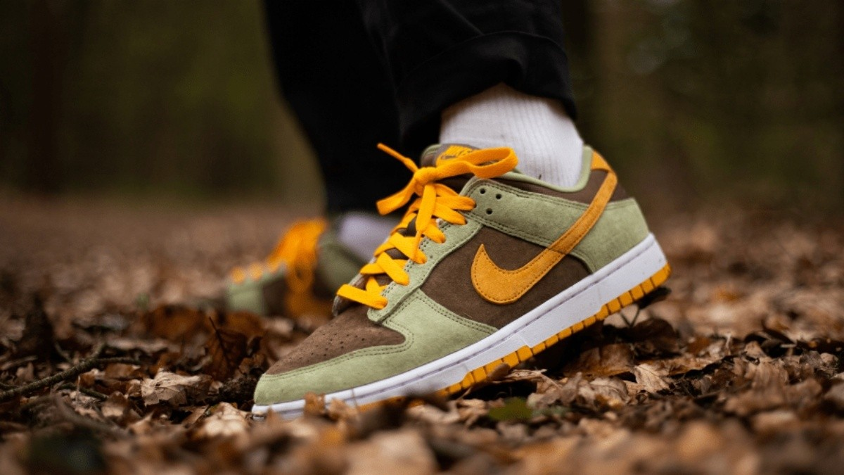 """Nike Dunk Low """"Dusty Olive"""""""